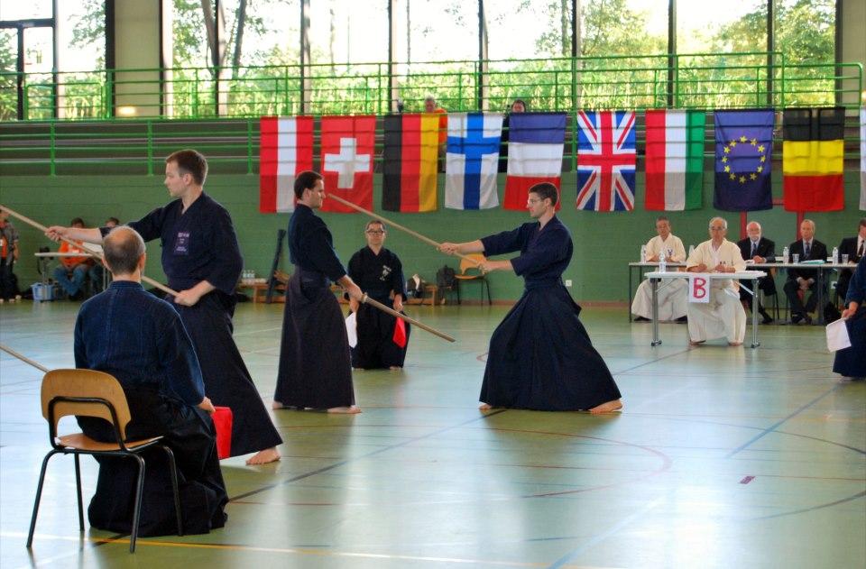 European Jodo Championships Bruxelles 2012