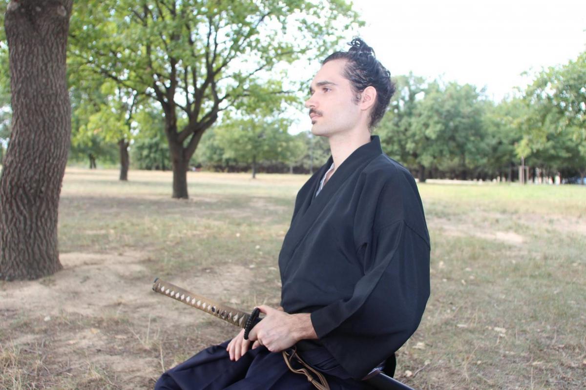 Notre nouveau gradé de iaido